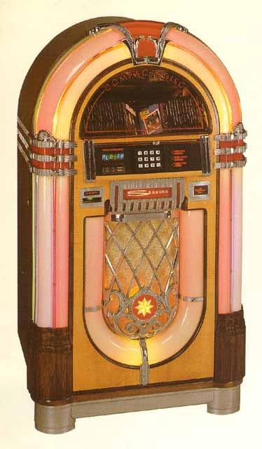 Seeburg SCCD-1 Classic Jukebox Musikbox