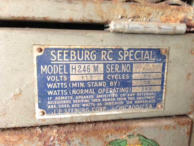 Seeburg H2146M - Trashcan Hideaway