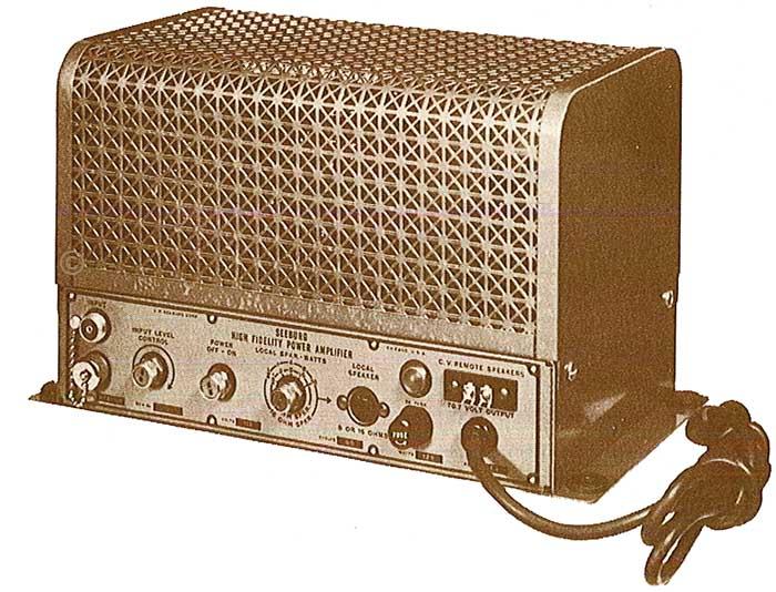Seeburg Console 200 C1 Ampl HFA1-L56