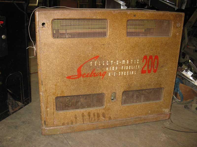 Seeburg HVL-200 Jukebox Phonograph Musikbox