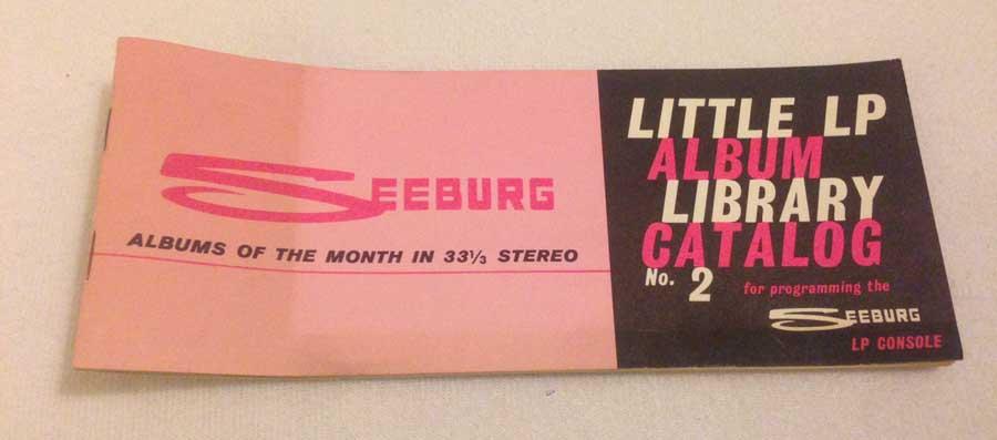 Seeburg LPC1 Booklet