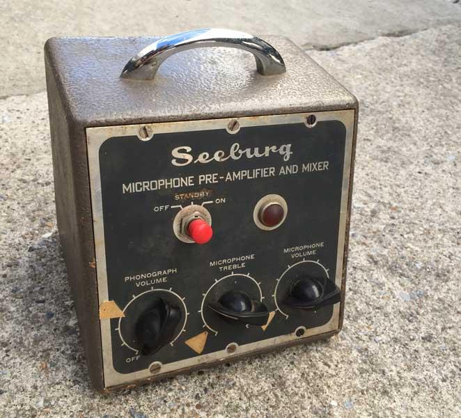 Seeburg Preamplifier Kit