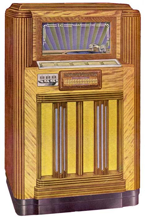 Seeburg Symphonola Rex Phonograph