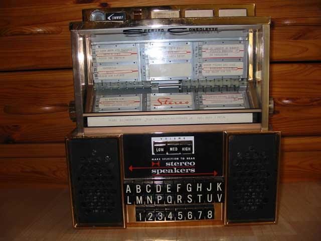 Seeburg Consolette SC2 Wallbox Fernwähler