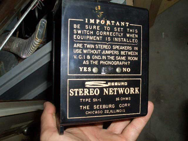 Seeburg Frequenzweiche SN1 Stereo Network