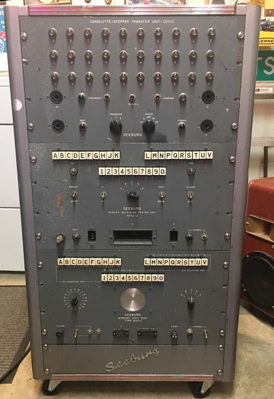 Seeburg Consolette Test Unit