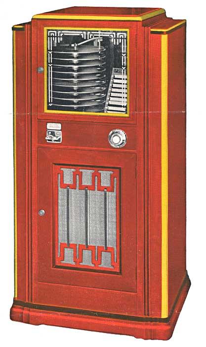 Selectophone Seeburg Jukebox