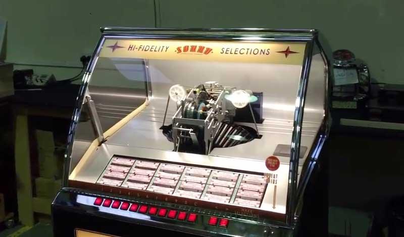 Sound Leisure Rocket Vinyl Jukebox