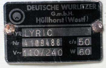 Wurlitzer HГјllhorst