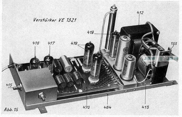 Wiegandt Verstärker VE 1321 Philips