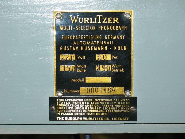 Wurlitzer 1800