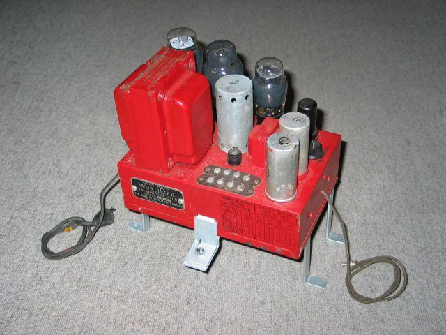 Wurlitzer Auxiliary Amplifier 217