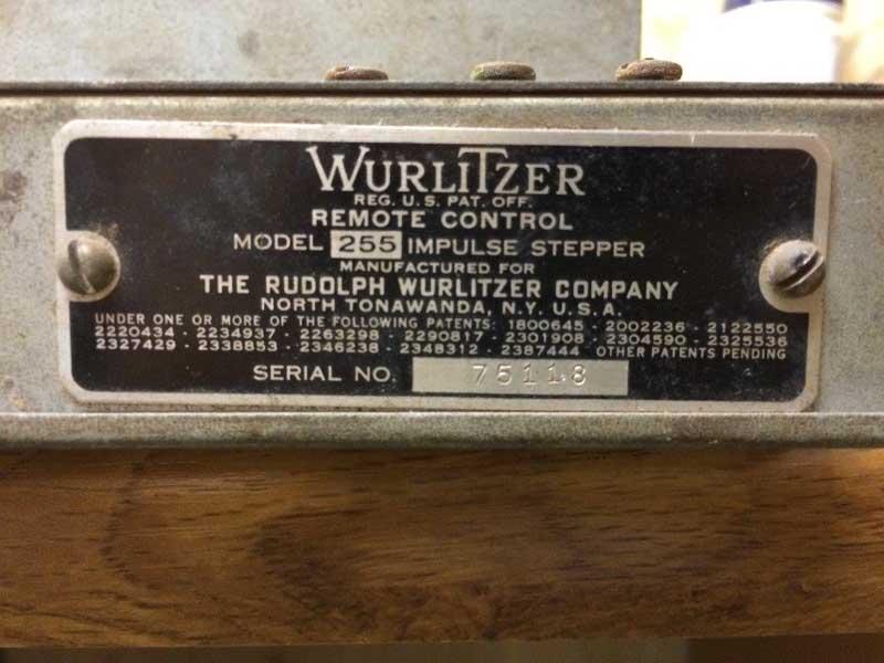 Stepper 255 Wurlitzer