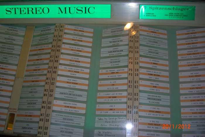 Wurlitzer 3100 Jukebox Musikbox