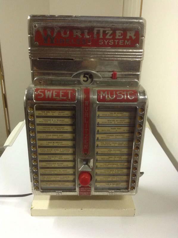 Wurlitzer 320 Sweet Music
