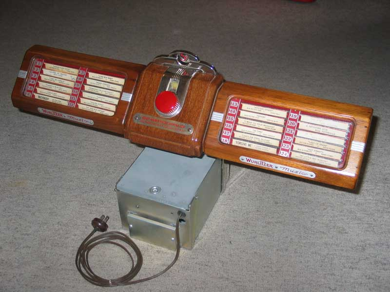 Wurlitzer 331 Barbox