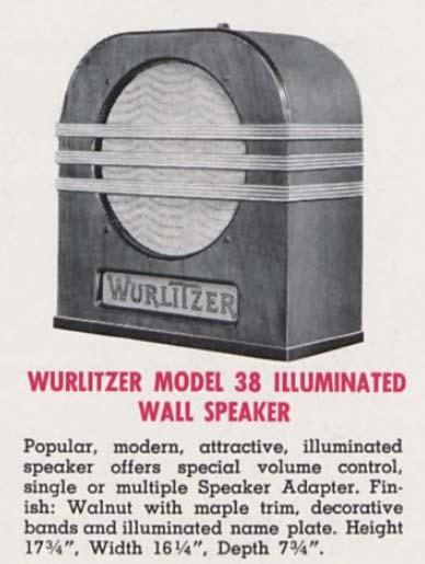 Wurlitzer 38