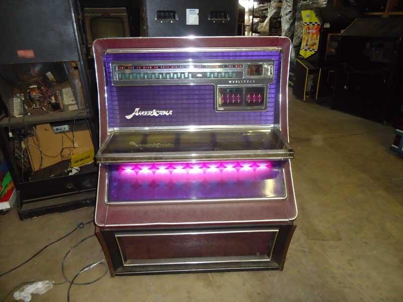 Wurlitzer 3800 Americana Jukebox Phonograph Musikbox
