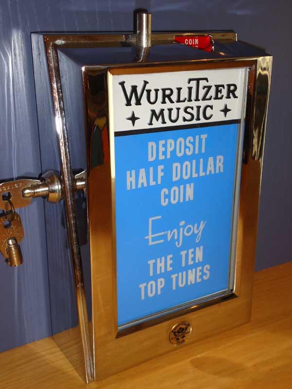 Wurlitzer Fernwähler 5010 Top Tunes