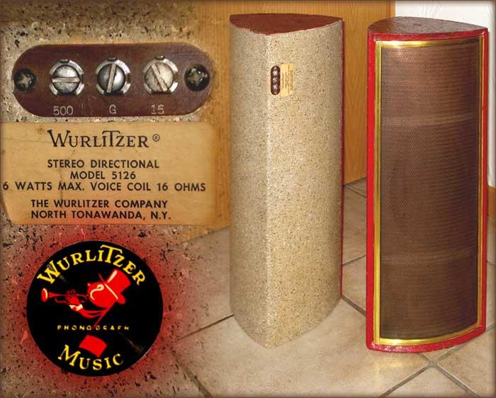 Wurlitzer Speaker 5126 Jukebox Musikbox