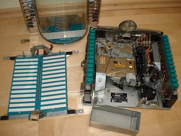 Wurlitzer Fernwähler wallbox 5205