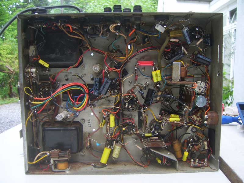 Wurlitzer 1800 amplifier 528