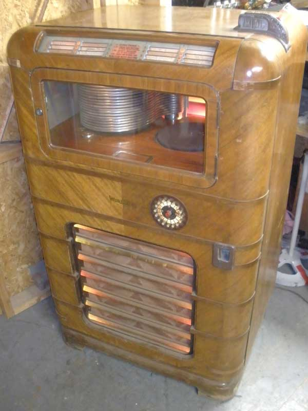Wurlitzer 616A Jukebox Musikbox W616 A