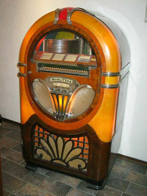 wurlitzer 750 jukebox