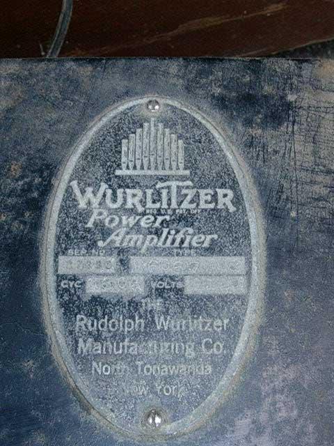 Wurlitzer P20