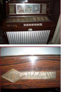 Melodija 100A Finemehanika Jukebox