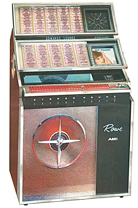 Ami 200 Jukebox Manual