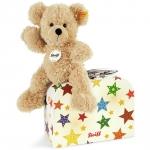 Fynn Teddybär mit Sternen-Koffer