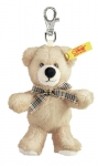 Schlüsselanhänger Teddybär Beige