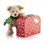 Fynn Teddy Bear with red suitcase
