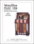 Service Manual Wurlitzer 1250