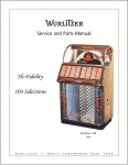 Service manual Wurlitzer 1700
