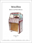 Service Manual Wurlitzer 2150
