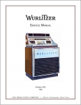 Service Manual Wurlitzer 3000