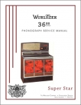 Service Manual Wurlitzer 3600