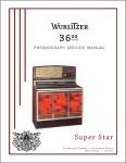 Service Manual Wurlitzer 3600