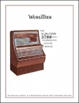 Service Manual Wurlitzer 3700