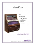 Service Manual Wurlitzer 3800