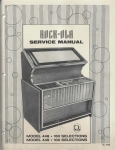 Service Manual Rock-Ola 448 und 449