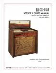 Service Manual Rock-Ola 461