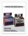 Service Manual Rock-Ola 463 und 469