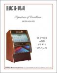 Service Manual Rock-Ola 496XCD