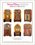 Service Manual Wurlitzer 700 - 950