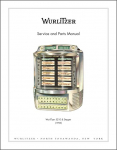 Service Manual Wurlitzer 5210/2000