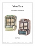 Service Manual Wurlitzer 5210