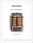 Service Manual Wurlitzer 5250